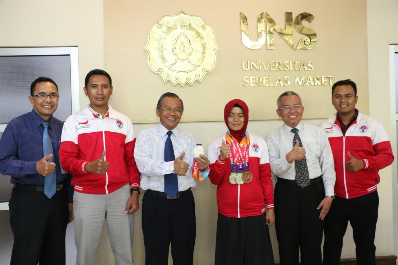 Berprestasi di Asian Para Games, Mahasiswa UNS Bebas UKT