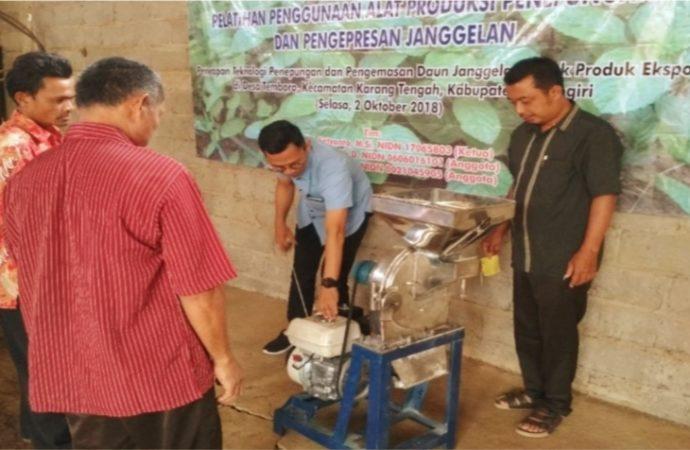 PPLH LPPM UNS Gelar Program Pemberdayaan Petani Janggelan di Wonogiri, Ini Alasannya