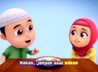 Nussa-Rara Episode 2: Makan, Jangan Asal Makan Berbentuk Video Musikal