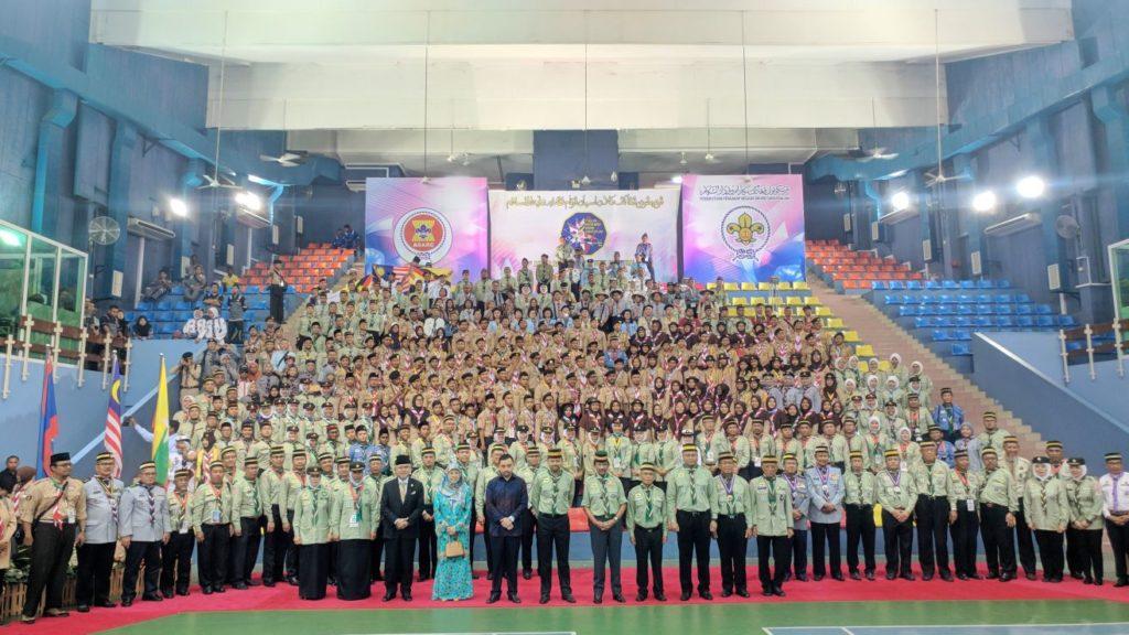 Pramuka SMAIT Ihsanul Fikri Magelang Ikuti 1st ASEAN Rover Moot Brunei Darussalam