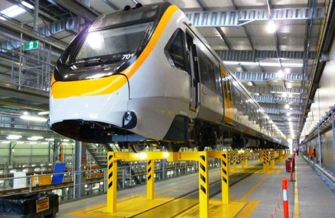 Tak Penuhi Standar Disabilitas, Kereta Komuter Baru di Queensland Dibangun Ulang
