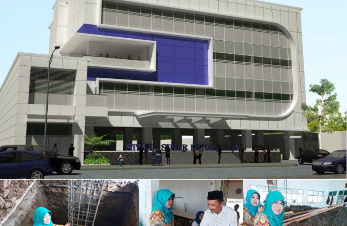 Peletakan Batu Pertama, STMIK Sinus Mulai Bangun Gedung Utama 3 Lantai