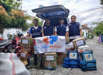 SOLOPEDULI Kirim Relawan dan Bantuan Bagi Korban Tsunami Selat Sunda