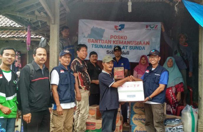SOLOPEDULI Bantu Korban Tsunami di Daerah Terisolasi