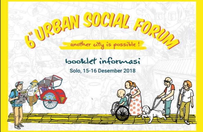 Kota Solo Kembali Dipilih Menjadi Ajang Urban Social Forum