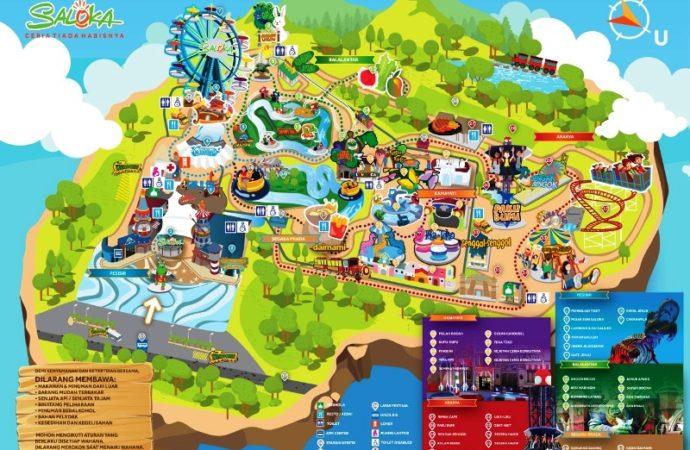 Seloka Theme Park, Wahana Rekreasi Terbesar di Jateng Mulai Dibuka
