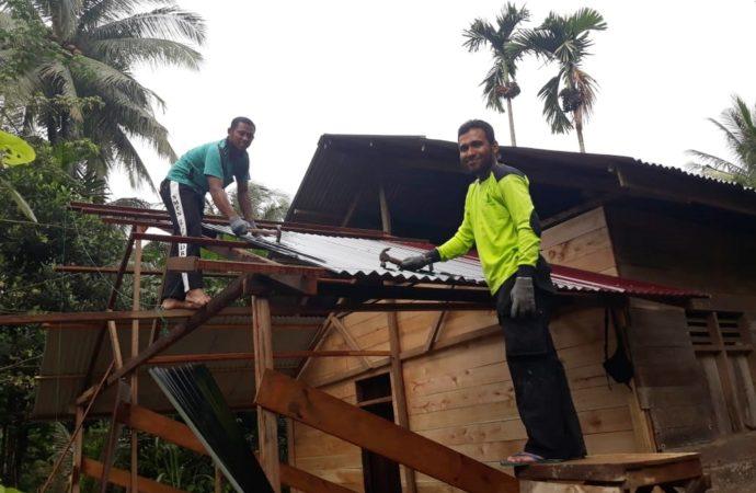 RUMAH PEDULI Aceh, Mitra Jejaring SOLUSI ZAKAT Bedah Rumah di Gandapura, Bireuen, Aceh