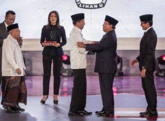 Debat Perdana Capres Usai, Siapa Lebih Unggul?