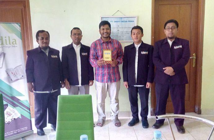 Tim Redaksi Majalah Syamil Ponpes Al Mukmin Ngruki Kunjungi Hadila
