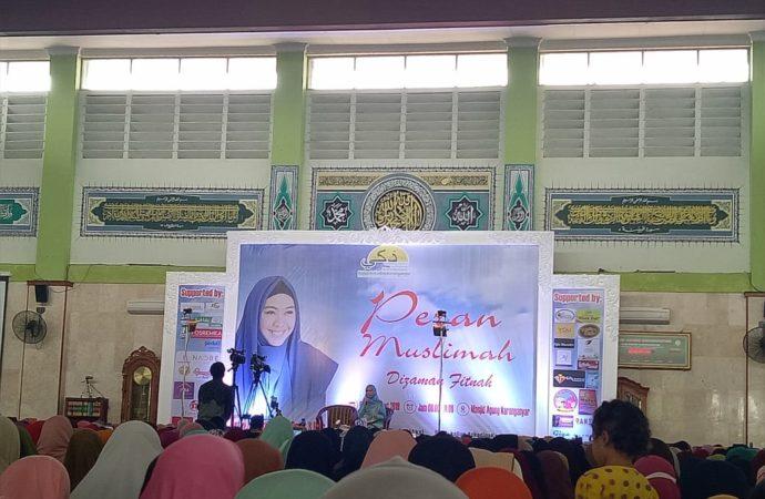 Membedah Peran Muslimah di Zaman Fitnah Bersama Oki Setiana Dewi