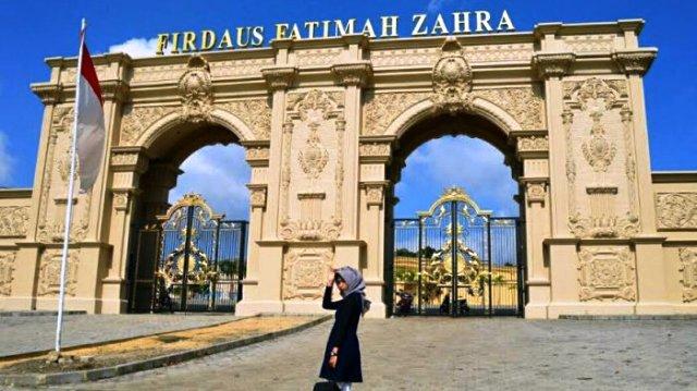 Mantabkan Manasik Haji, Calhaj KBH Mandiri Praktik ke Fatimah Az-Zahra