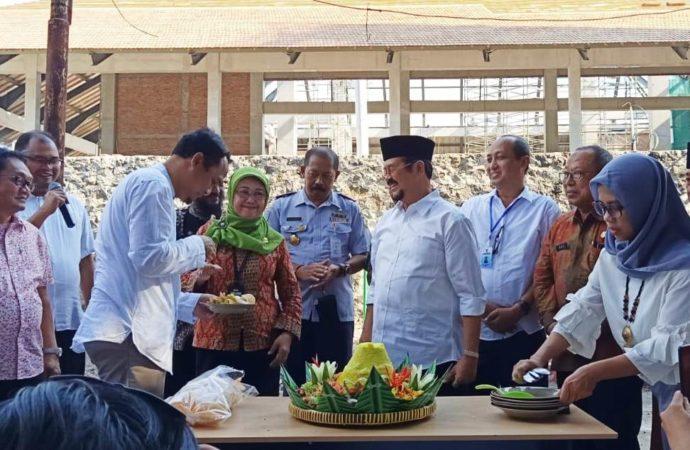 Tasyakuran Pemasangan Atap Brunjung: Masjid Taman Sriwedari Memasuki Tahap Akhir