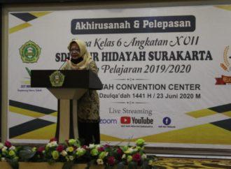SDIT Nur Hidayah Surakarta Adakan Akhirusanah Virtual