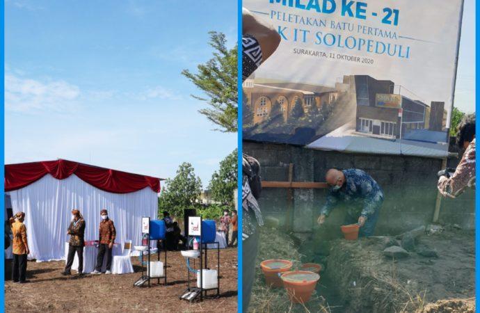 Milad ke-21 SOLOPEDULI Bangun Gedung SMK Gratis Rp6 M untuk Dhuafa